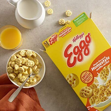 kelloggs homestyle eggo cereal