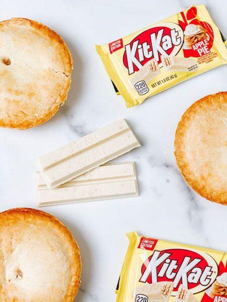 kitkat apple pie
