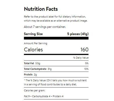 kraft caramels individually wrapped 311g facts