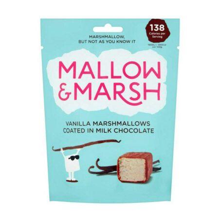 mallow marsh vanilla coated in milk chocolate
