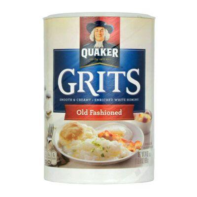 quaker old fashioned grits oz g