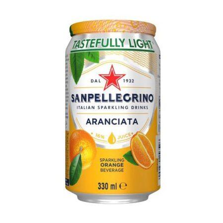 sanpellegrino aranciata ml