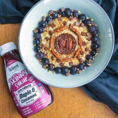 the skinny food co maple cinnamon 425ml 2