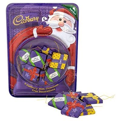 Cadbury Milk Chocolate Tree Decorations 83g 2