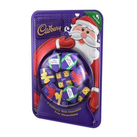 Cadbury Milk Chocolate Tree Decorations 83g