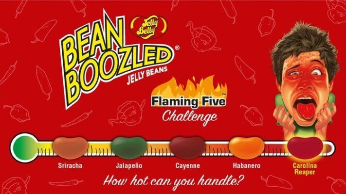 Jelly Belly Bean Boozled Jelly flaming five Beans 54gr 2