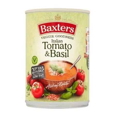 baxters tomato basil 400g