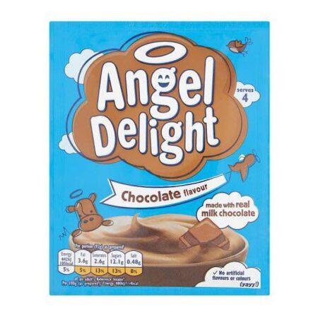 birds angel delight chocolate g