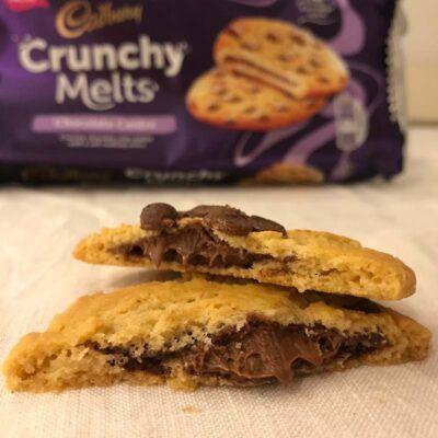 cadbury crunchy melts 156g 2
