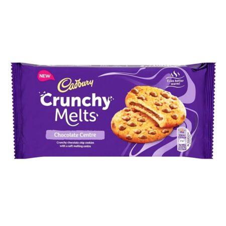 cadbury crunchy melts 156g