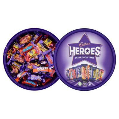 cadbury heroes tub 600g 2