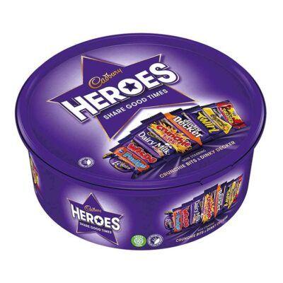 cadbury heroes tub g