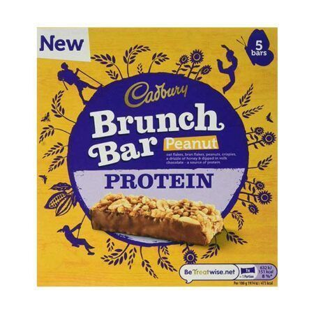 cadbury protein brunch bar 160g peanut