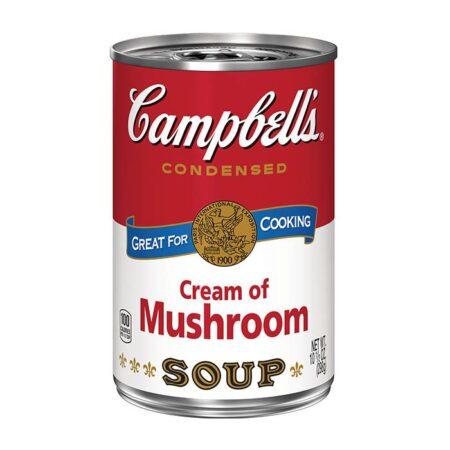 campbells soup cream of mushroom
