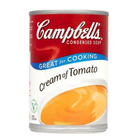 campbells soup cream of tomato
