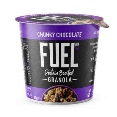 fuel 10k granola chunky chocolate