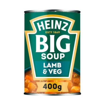 heinz big soup lamb vegetable 400g