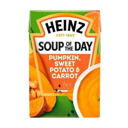 heinz soup of the day spiced pumpkin sweet potato carrot g
