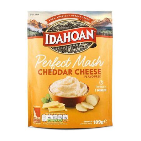 idahoan perfect mash cheddar cheese 109g