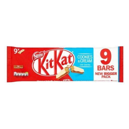 kitkat  bars cookies cream g