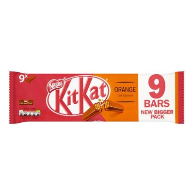 kitkat  bars orange g