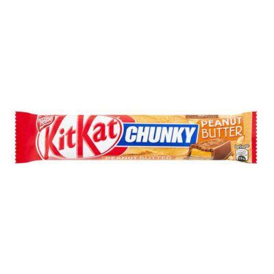 kitkat chunky peanut butter g