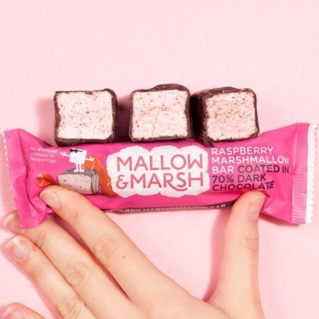 mallow marsh bar raspberry 35g 2