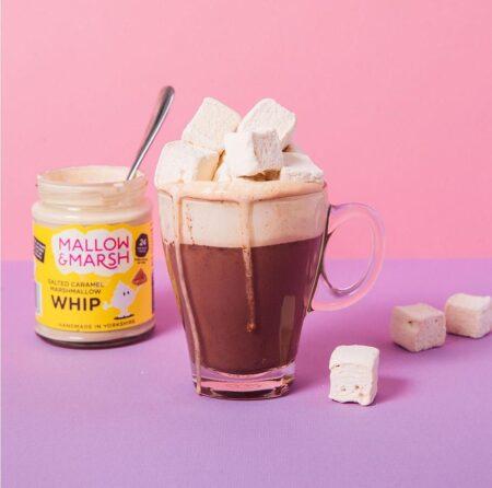 mallow marsh whip salted caramel 138g 2
