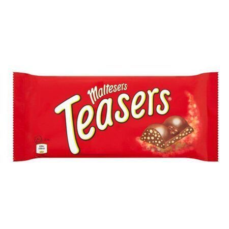 mars maltesers teasers chocolate bar g