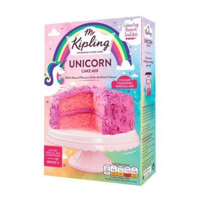mr kipling unicorn cake mix g