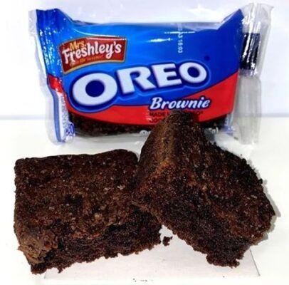 mrs freshleys oreo brownie 85g 2