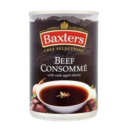 soupa etoimi 400g beef consomme baxters chef selections