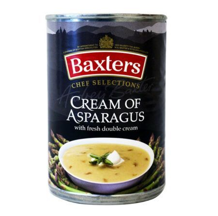 soupa etoimi 400g cream of asparagus baxters chef selections