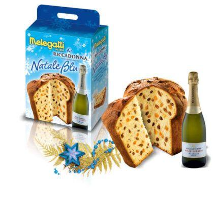Natale blu Melegatti panettone 2