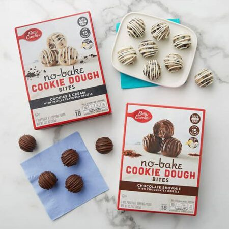 betty crocker chocolate chip no bake cookie dough bites g