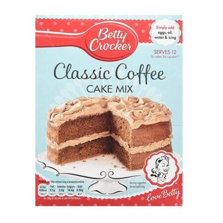 betty crocker classic coffee cake mix g