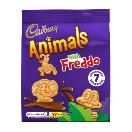 cadbury animals with freddo 139g