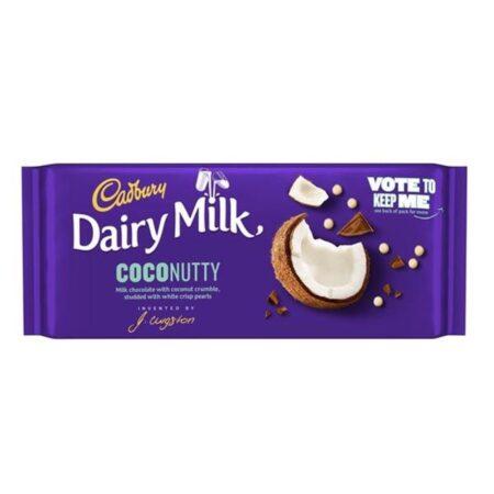 cadbury coconutty 105g