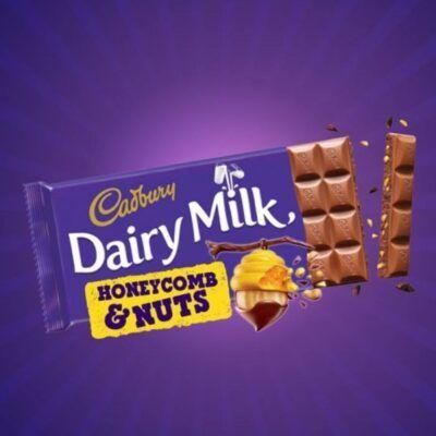cadbury honeycomb nuts 105g 2