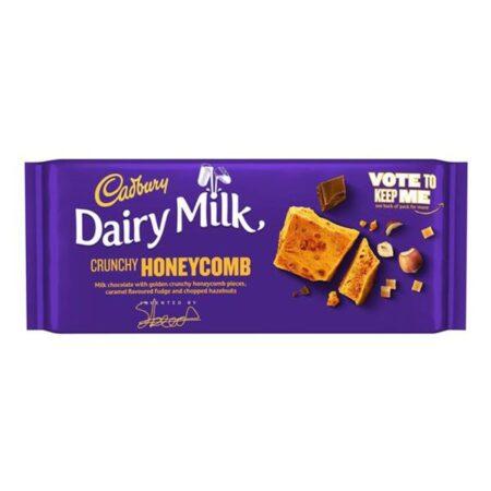 cadbury honeycomb nuts 105g