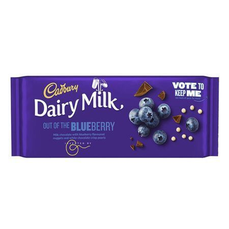 cadbury out of the blueberry 105g
