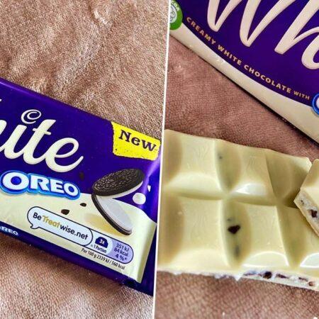 cadbury white oreo 120g 2