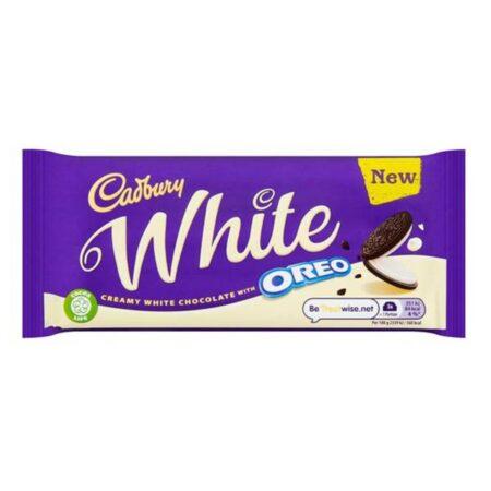 cadbury white oreo 120g