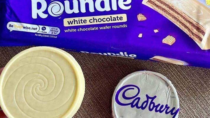 cadbury roundie white 180g 2
