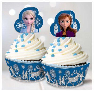 cake angels frozen 2 cupcake kit 2