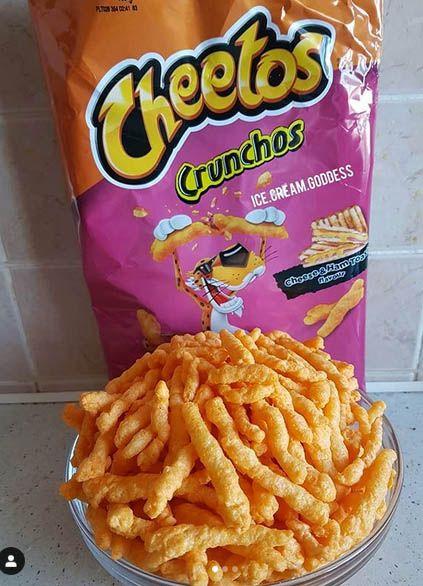 cheetos crunchos ham cheese 95g 2