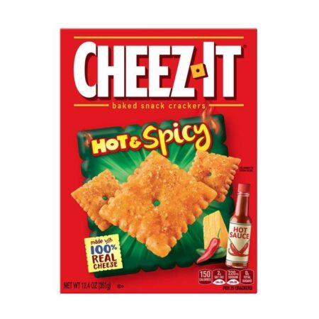 cheez it hot spicy 351g