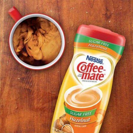 coffee mate hazelnut