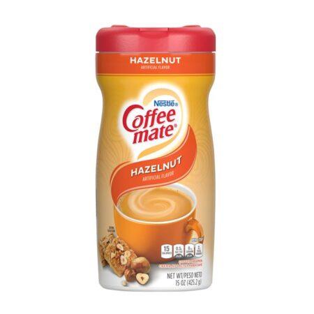 coffee mate hazelnut g
