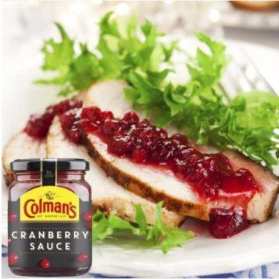 colmans cranberry sauce 165g 2